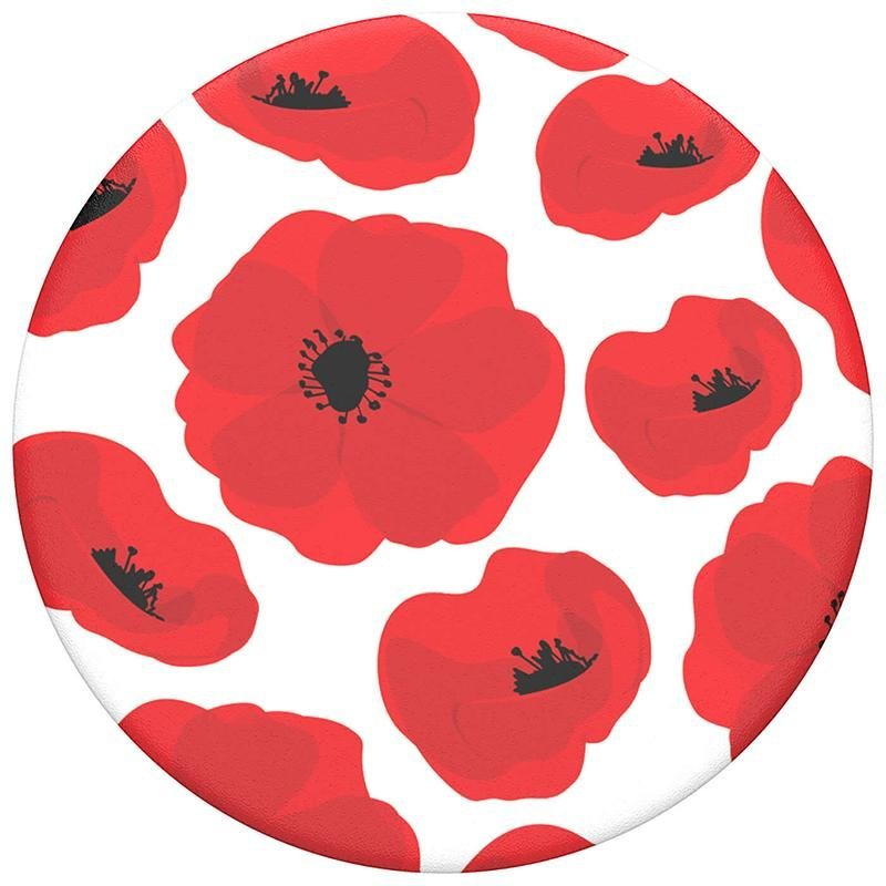 Image of   POPSOCKETS Scandi Poppies POPTOP (Kun Løs Top)