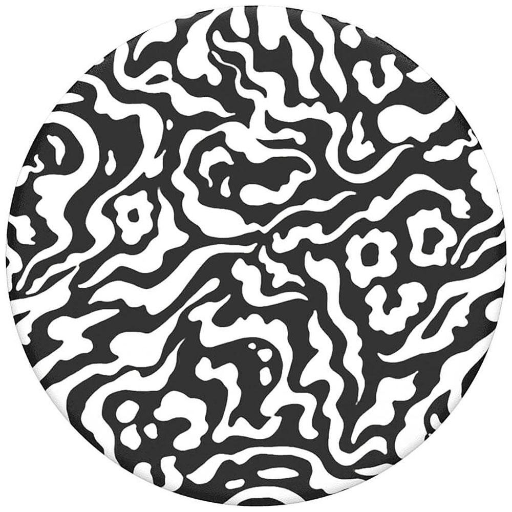Image of   POPSOCKETS TOP Zebra Melt POPTOP (Kun Løs Top)