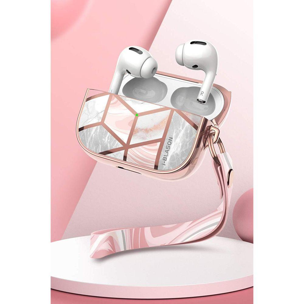 Image of   i-Blason Cosmo Marble Apple AirPods Pro Charging Case Cover