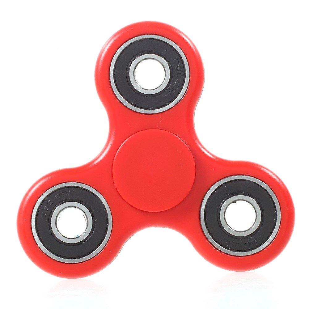 Image of   Fidget Spinner - Afstressende legetøj til alle - Rød