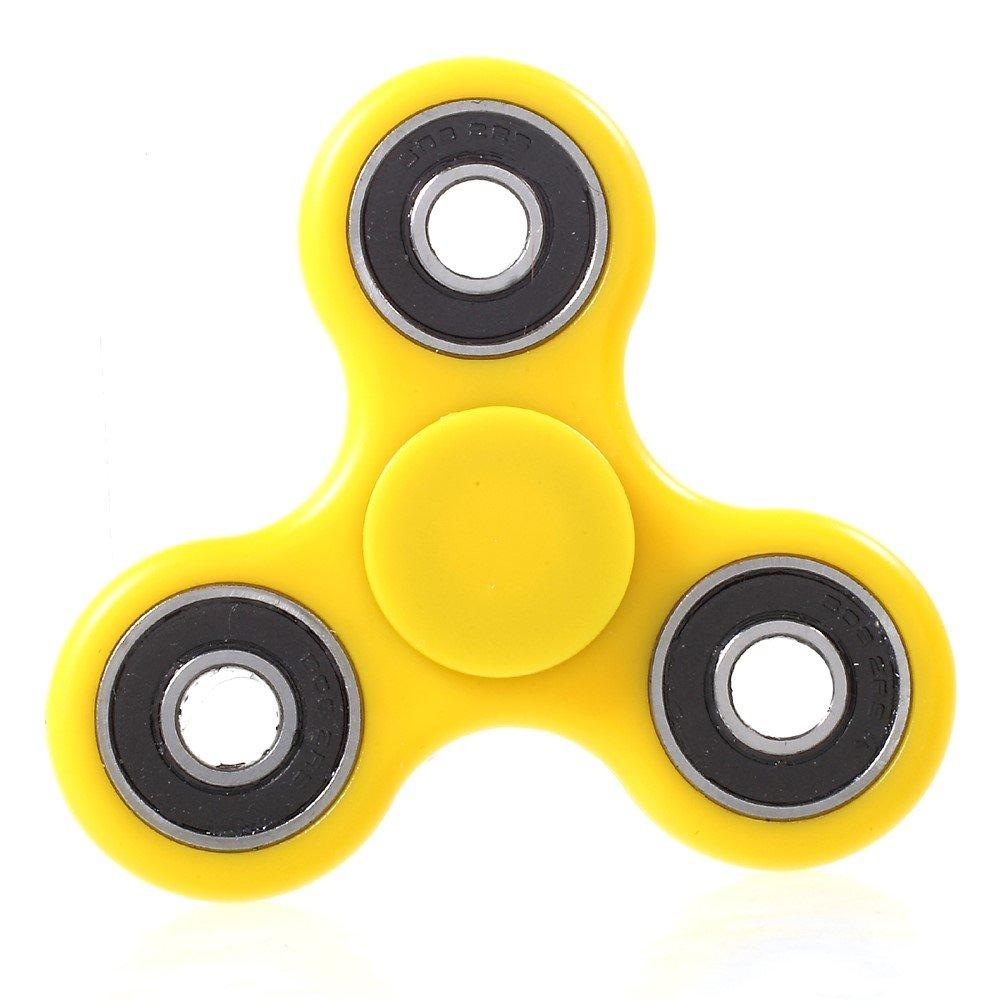 Image of   Fidget Spinner - Afstressende legetøj til alle - Gul