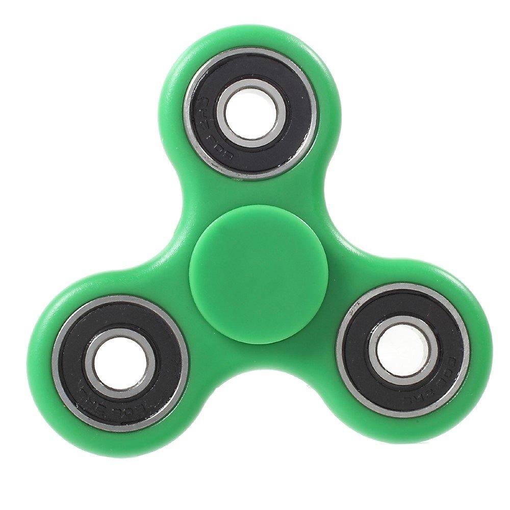 Image of   Fidget Spinner - Afstressende legetøj til alle - Grøn