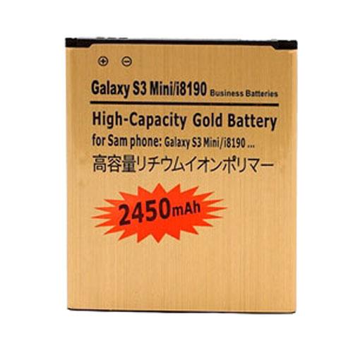 Image of   Samsung Galaxy S3 Mini 2450mAh høj kapacitet batteri