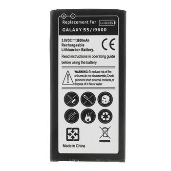Image of   Samsung Galaxy S5/S5 Neo 3800mAh Højkapacitet Batteri