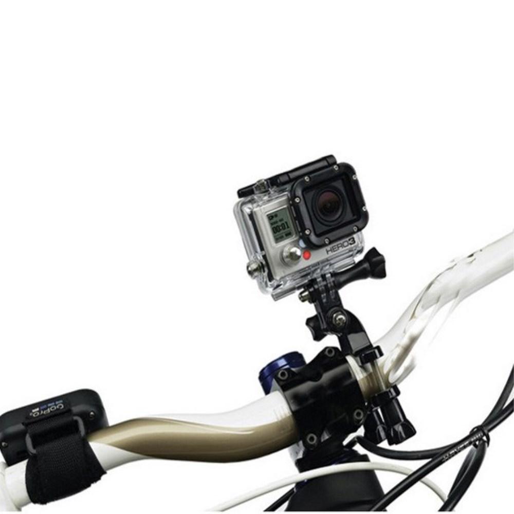 Image of   GearMate Cykel/Motorcykel/Pole Mount m. Justerbar arm til GoPro Hero 4/3/2/1