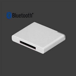 Image of   Bluetooth Music Receiver Adapter Til 30 Pin Dock Speaker - Hvid