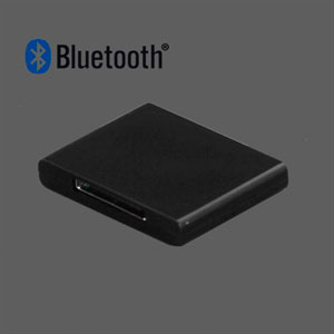 Billede af Bluetooth Music Receiver Adapter Til 30 Pin Dock Speaker - Sort
