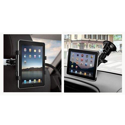 Image of   2 i 1 Tablet Bilholder til nakkestøtte eller rude
