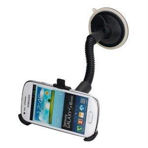 Image of   Samsung Galaxy S3 Mini Bilholder med flexslange og sugekop
