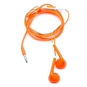 Image of Høretelefoner med mikrofon - orange