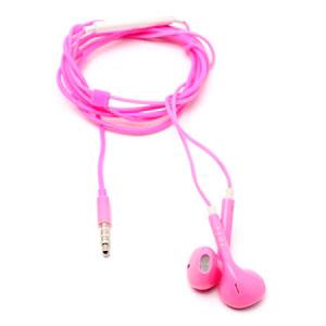 Image of Høretelefoner med mikrofon - pink