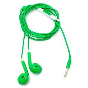 Image of Høretelefoner med mikrofon - grøn