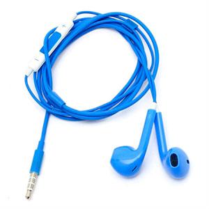 Image of Høretelefoner med mikrofon - blå