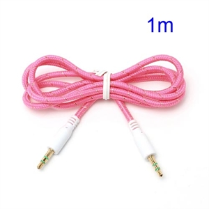 Image of 3.5mm - 3.5mm Audio Kabel - Pink