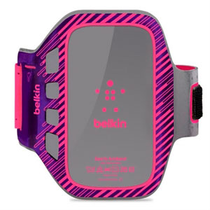 Image of   Samsung Galaxy Sports armbånd fra Belkin - pink/lilla