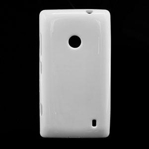 Billede af Nokia Lumia 520 TPU cover fra inCover - hvid