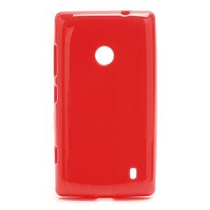 Image of   Nokia Lumia 520 TPU cover fra inCover - rød