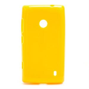 Billede af Nokia Lumia 520 TPU cover fra inCover - gul
