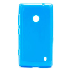 Image of   Nokia Lumia 520 TPU cover fra inCover - blå