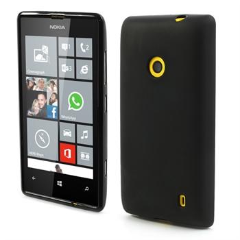 Billede af Nokia Lumia 520 inCover TPU Cover - Sort