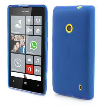 Billede af Nokia Lumia 520 inCover TPU Cover - Blå