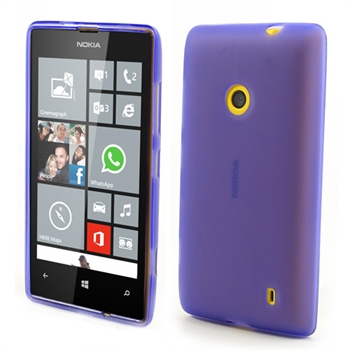 Billede af Nokia Lumia 520 inCover TPU Cover - Lilla