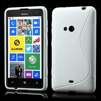 Nokia Lumia 625 inCover TPU S-line Cover - Hvid