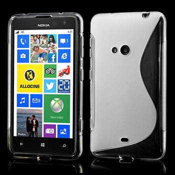 Nokia Lumia 625 inCover TPU S-line Cover - Gennemsigtig