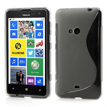 Nokia Lumia 625 inCover TPU S-line Cover - Grå