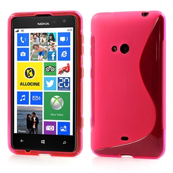 Nokia Lumia 625 inCover TPU S-line Cover - Rosa