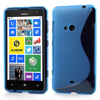 Nokia Lumia 625 inCover TPU S-line Cover - Blå