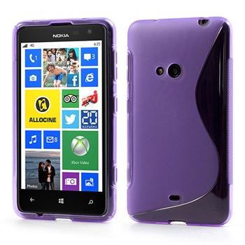 Nokia Lumia 625 inCover TPU S-line Cover - Lilla