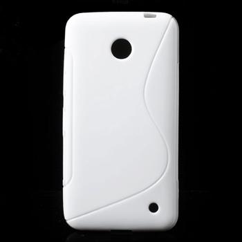 Image of Nokia Lumia 630 inCover TPU S-line Cover - Hvid