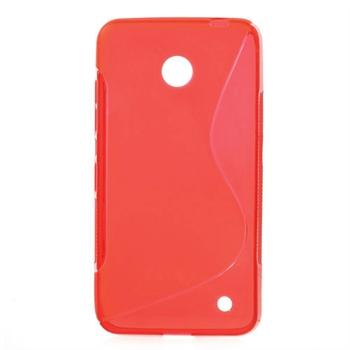 Image of Nokia Lumia 630 inCover TPU S-line Cover - Rød