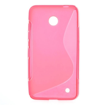 Image of Nokia Lumia 630 inCover TPU S-line Cover - Rosa