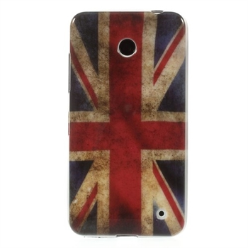 Image of Nokia Lumia 630 inCover Design TPU Cover - Union Jack