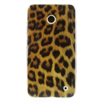 Image of Nokia Lumia 630 inCover Design TPU Cover - Leopard