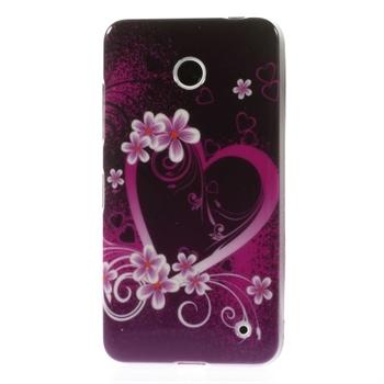 Image of Nokia Lumia 630 inCover Design TPU Cover - Heart