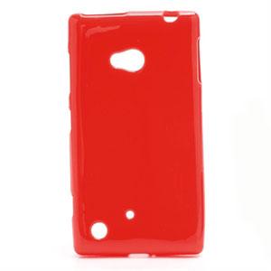 Billede af Nokia Lumia 720 TPU cover fra inCover - rød