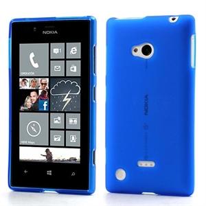 Billede af Nokia Lumia 720 inCover TPU Cover - Mørk Blå