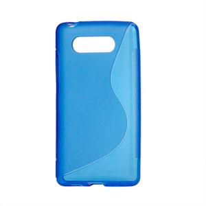 Billede af Nokia Lumia 820 TPU S-line cover fra inCover - blå