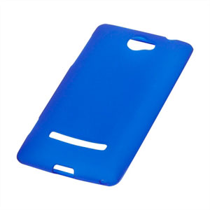 Image of HTC 8S TPU cover fra inCover - blå