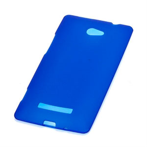 Image of HTC 8X TPU cover fra inCover - blå