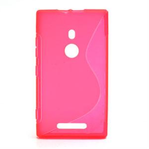 Billede af Nokia Lumia 925 inCover TPU S-line Cover - Rosa