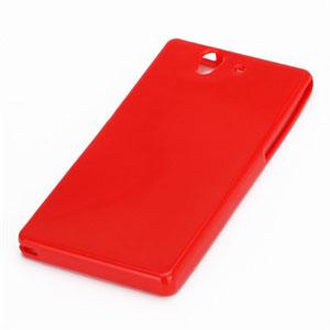 Billede af Sony Xperia Z TPU cover fra inCover - rød