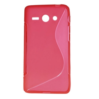 Huawei Ascend Y530 inCover TPU S-line Cover - Rød