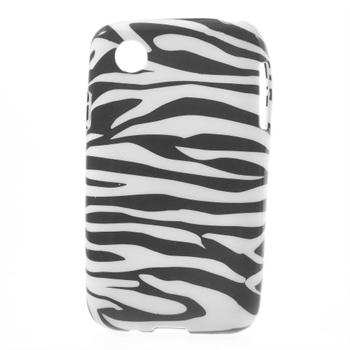 Billede af LG L40 inCover Design TPU Cover - Zebra