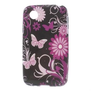 Billede af LG L40 inCover Design TPU Cover - Butterfly Flowers