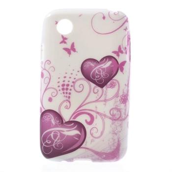 Billede af LG L40 inCover Design TPU Cover - Two Hearts