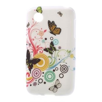 Billede af LG L40 inCover Design TPU Cover - Vivid Butterfly
